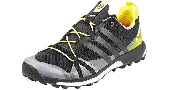 adidas Terrex Agravic Miehet juoksukengät , keltainen/musta